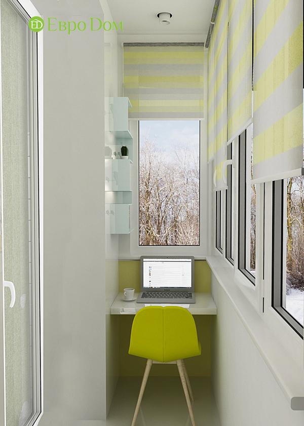 Дизайн квартиры в стиле функционализм. Фото 011