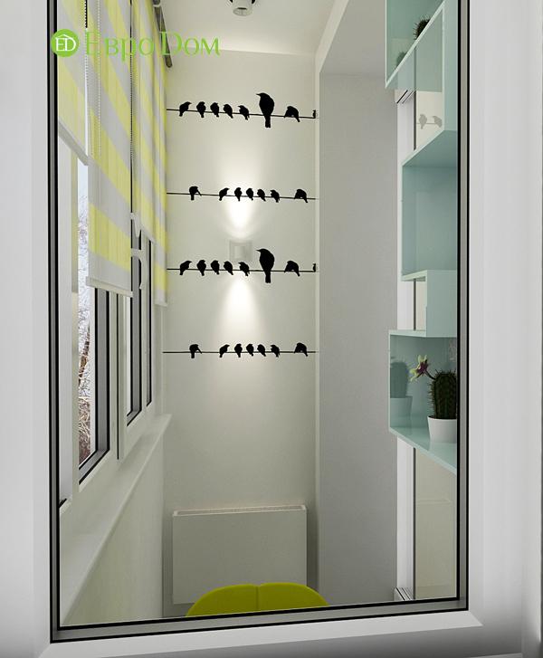 Дизайн квартиры в стиле функционализм. Фото 012