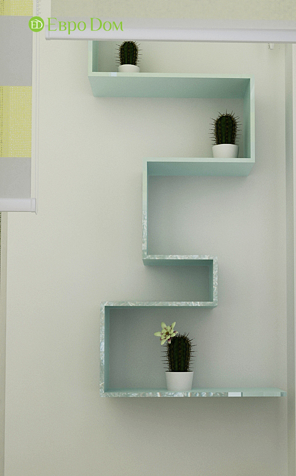 Дизайн квартиры в стиле функционализм. Фото 013