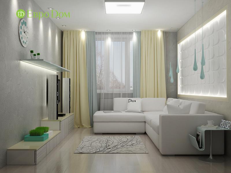 Дизайн квартиры в стиле функционализм. Фото 017