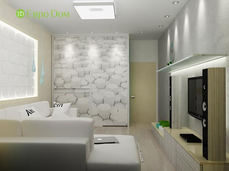 Дизайн квартиры в стиле функционализм. Фото 019