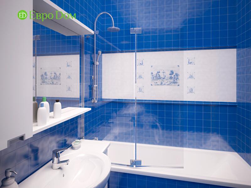 Дизайн двухкомнатной квартиры 64 кв. м в стиле минимализм. Фото 02