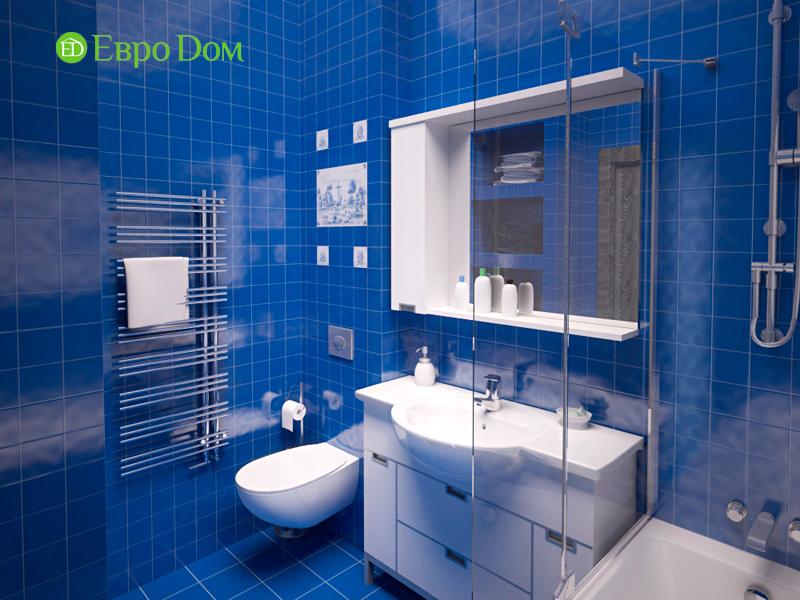 Дизайн двухкомнатной квартиры 64 кв. м в стиле минимализм. Фото 03