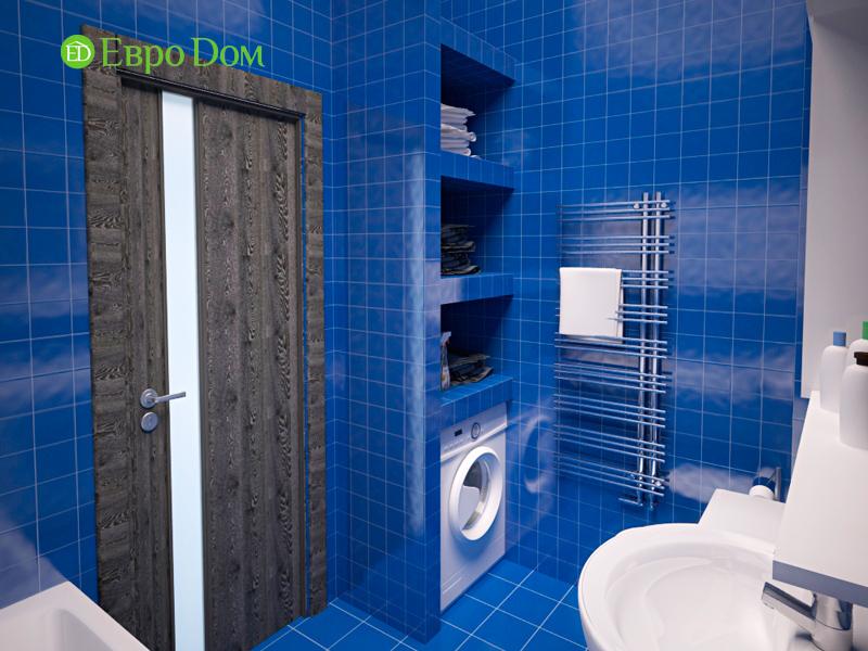 Дизайн двухкомнатной квартиры 64 кв. м в стиле минимализм. Фото 04