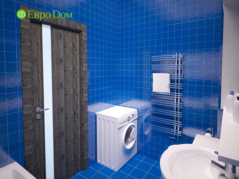 Дизайн двухкомнатной квартиры 64 кв. м в стиле минимализм. Фото 05
