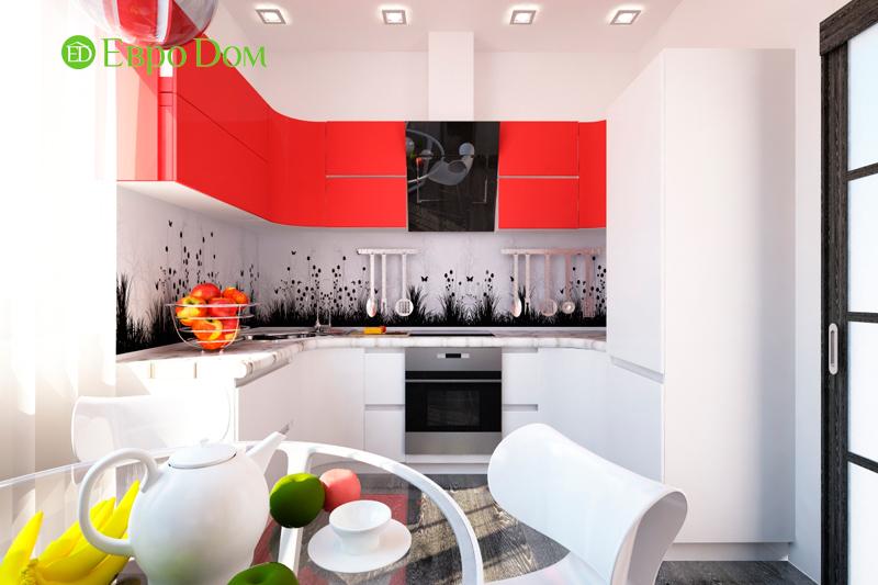 Дизайн двухкомнатной квартиры 64 кв. м в стиле минимализм. Фото 06