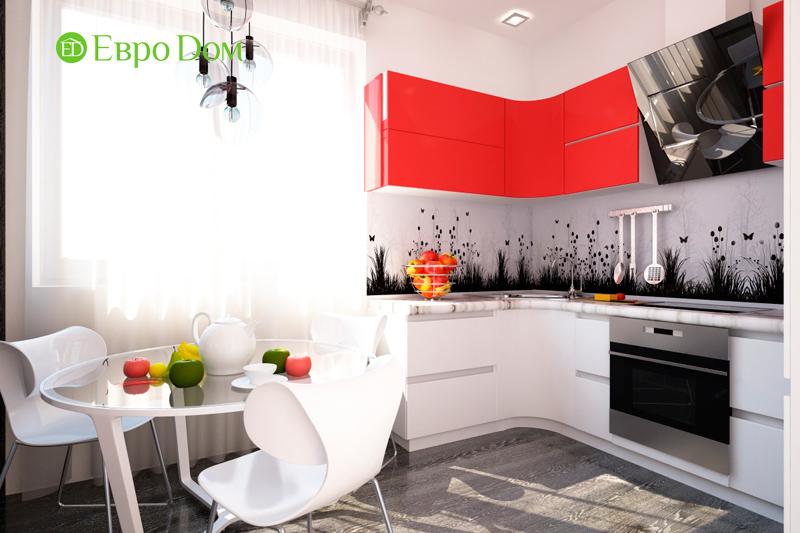 Дизайн двухкомнатной квартиры 64 кв. м в стиле минимализм. Фото 07
