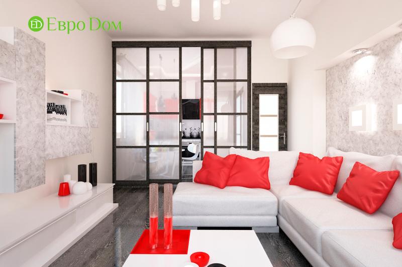 На фото: квартира, оформленная в стиле минимализм