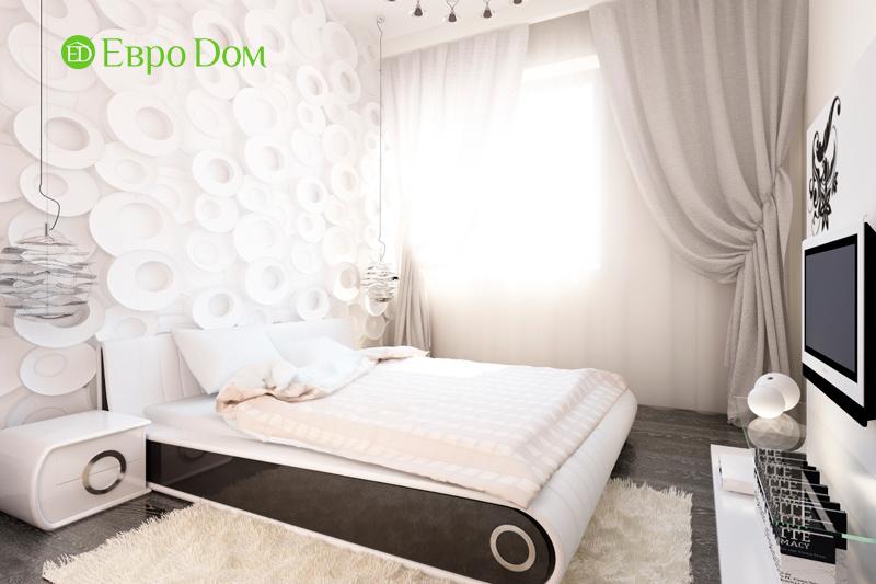 Дизайн двухкомнатной квартиры 64 кв. м в стиле минимализм. Фото 015
