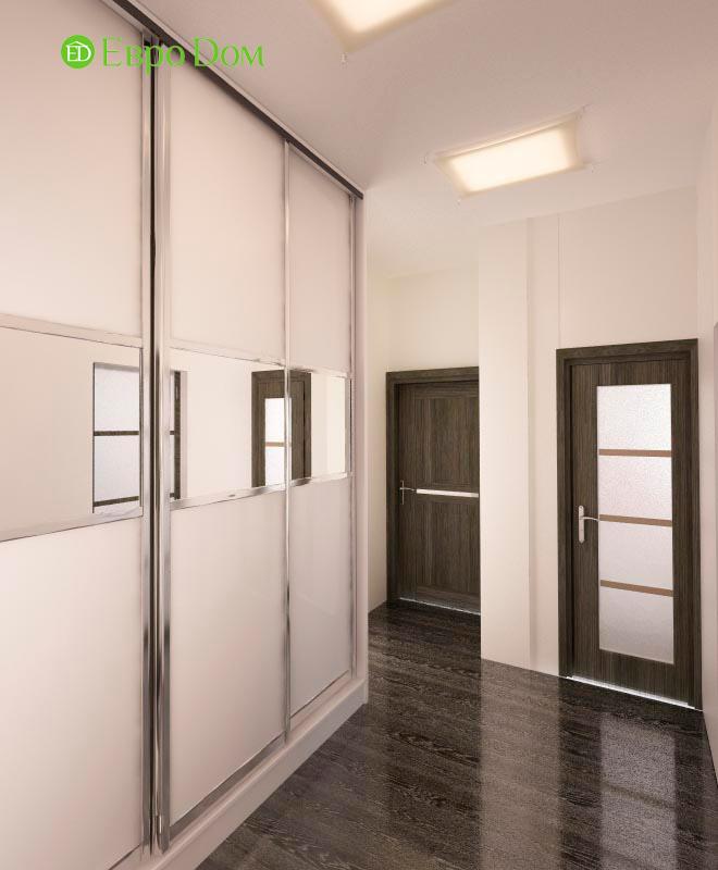 Дизайн двухкомнатной квартиры 64 кв. м в стиле минимализм. Фото 018