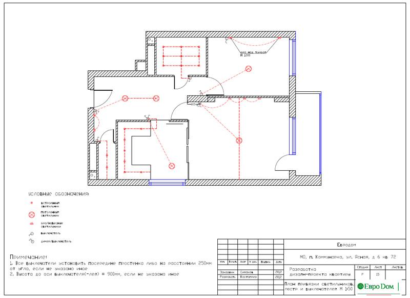 Дизайн двухкомнатной квартиры 64 кв. м в стиле минимализм. Фото 033