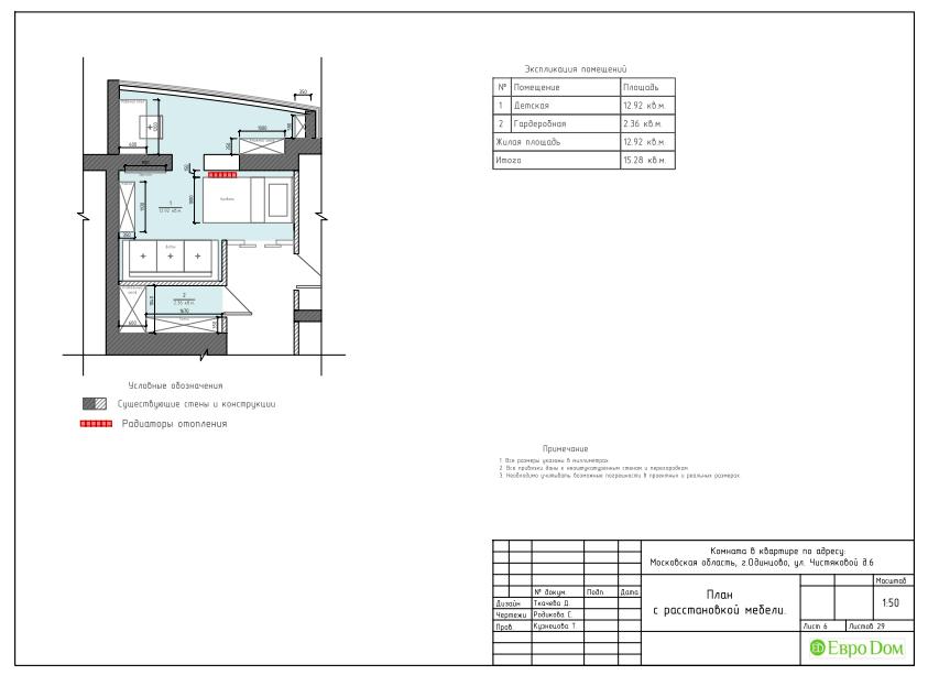 Дизайн квартиры в стиле прованс. Фото 015