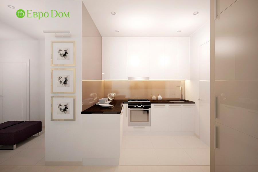 Дизайн 1-комнатной квартиры 55 кв. м в стиле минимализм. Фото 06