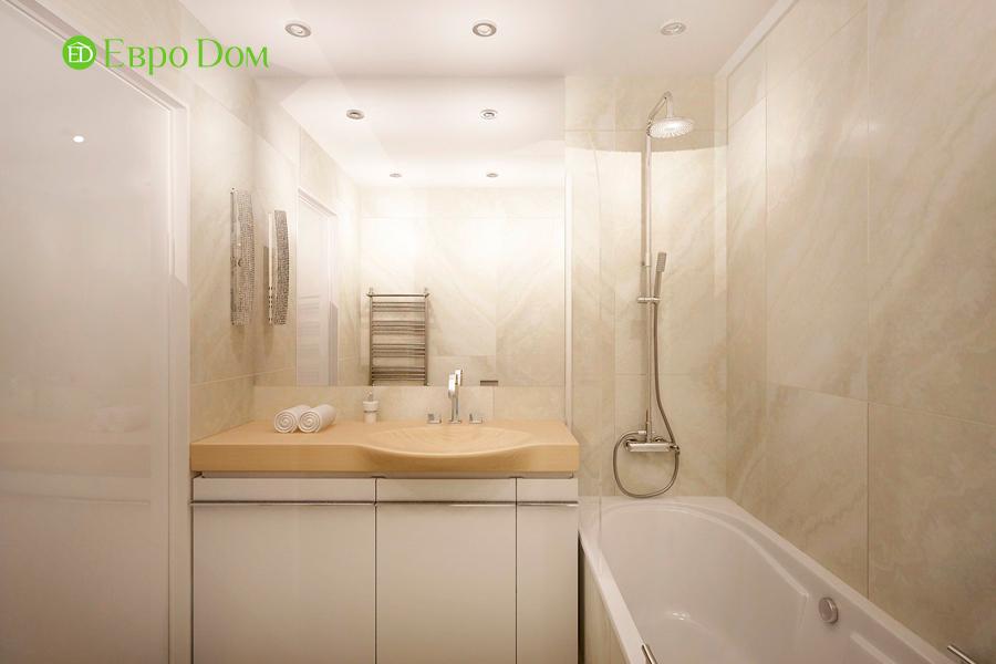 Дизайн 1-комнатной квартиры 55 кв. м в стиле минимализм. Фото 09