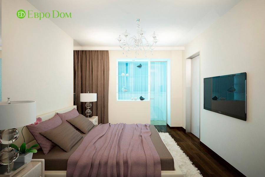 Дизайн 1-комнатной квартиры 55 кв. м в стиле минимализм. Фото 012