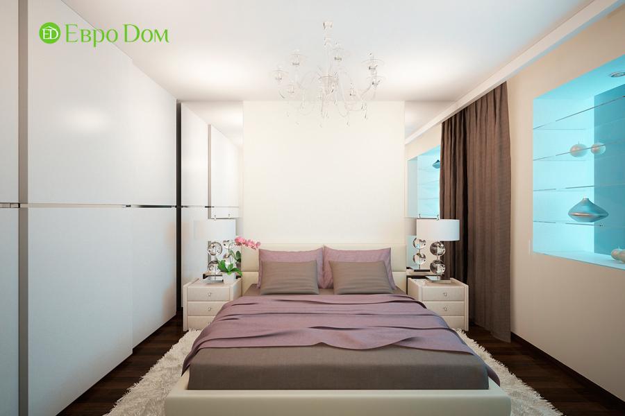 Дизайн 1-комнатной квартиры 55 кв. м в стиле минимализм. Фото 013