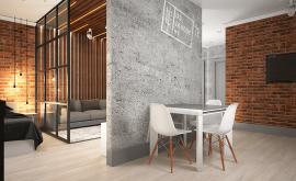 Дизайн интерьера 1-комнатной квартиры 49 кв.м. по адресу МО, г. Щелково, ул. Первомайская  д. 9, корп. 2. Фото 3