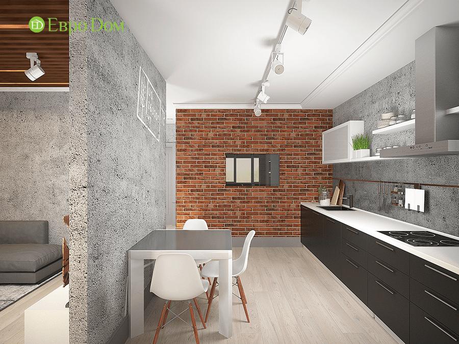 Дизайн 1-комнатной квартиры в современном стиле. Фото 013
