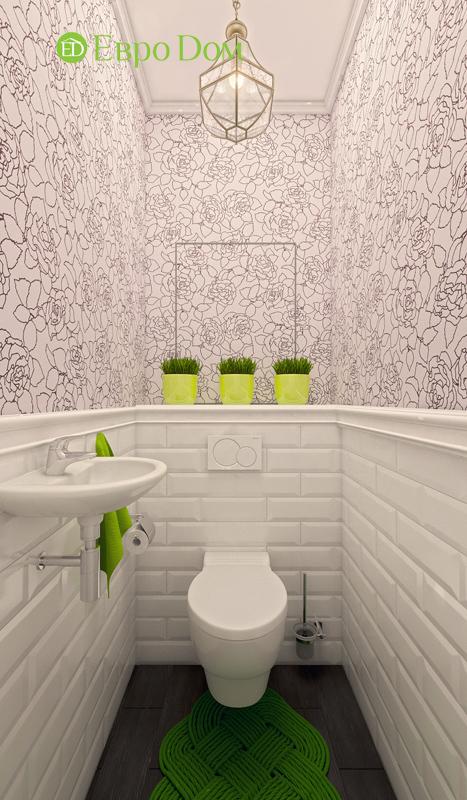 Дизайн двухкомнатной квартиры 63 кв. м в стиле белый лофт. Фото 04
