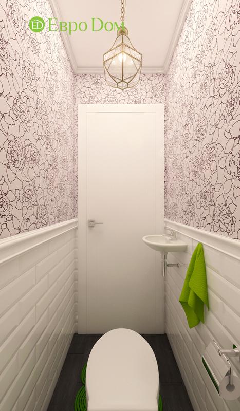 Дизайн двухкомнатной квартиры 63 кв. м в стиле белый лофт. Фото 05
