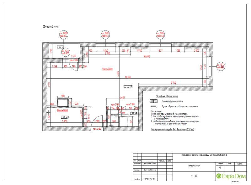 Дизайн двухкомнатной квартиры 63 кв. м в стиле белый лофт. Фото 016