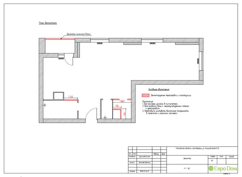 Дизайн двухкомнатной квартиры 63 кв. м в стиле белый лофт. Фото 017