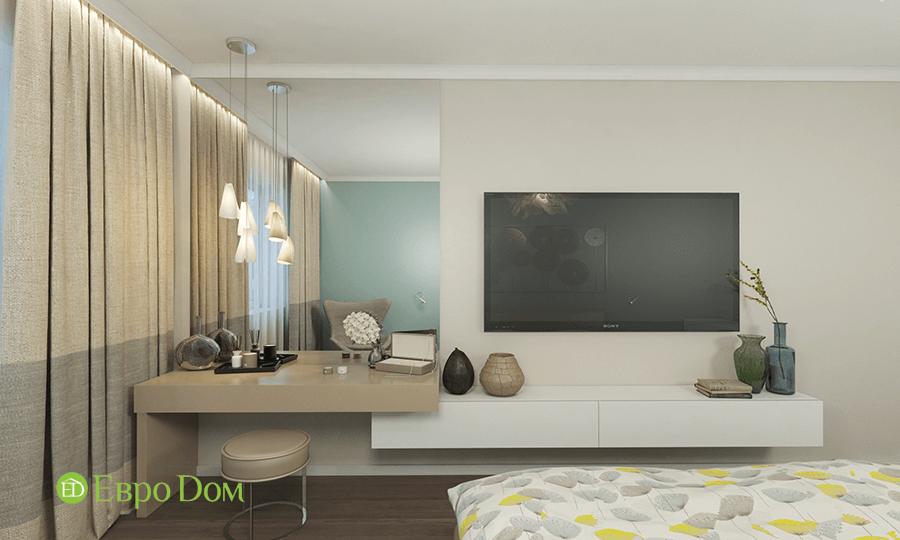 Дизайн трёхкомнатной квартиры 109 кв. м в современном стиле. Фото 04