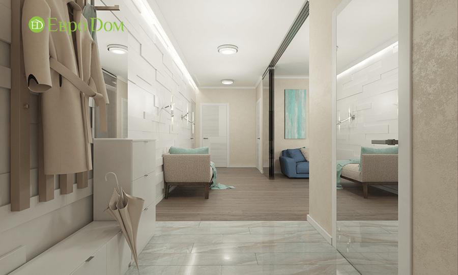 Дизайн трёхкомнатной квартиры 109 кв. м в современном стиле. Фото 08