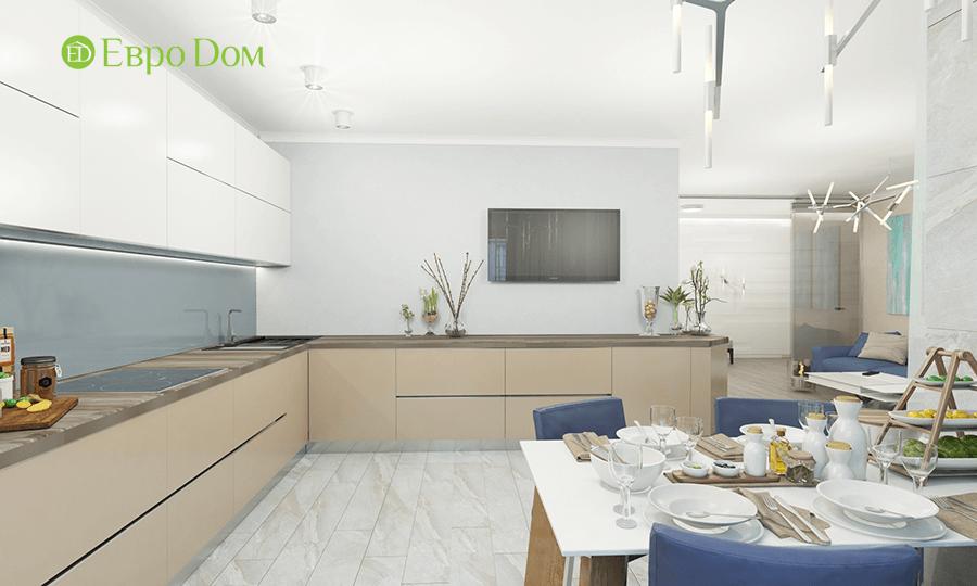 Дизайн трёхкомнатной квартиры 109 кв. м в современном стиле. Фото 015