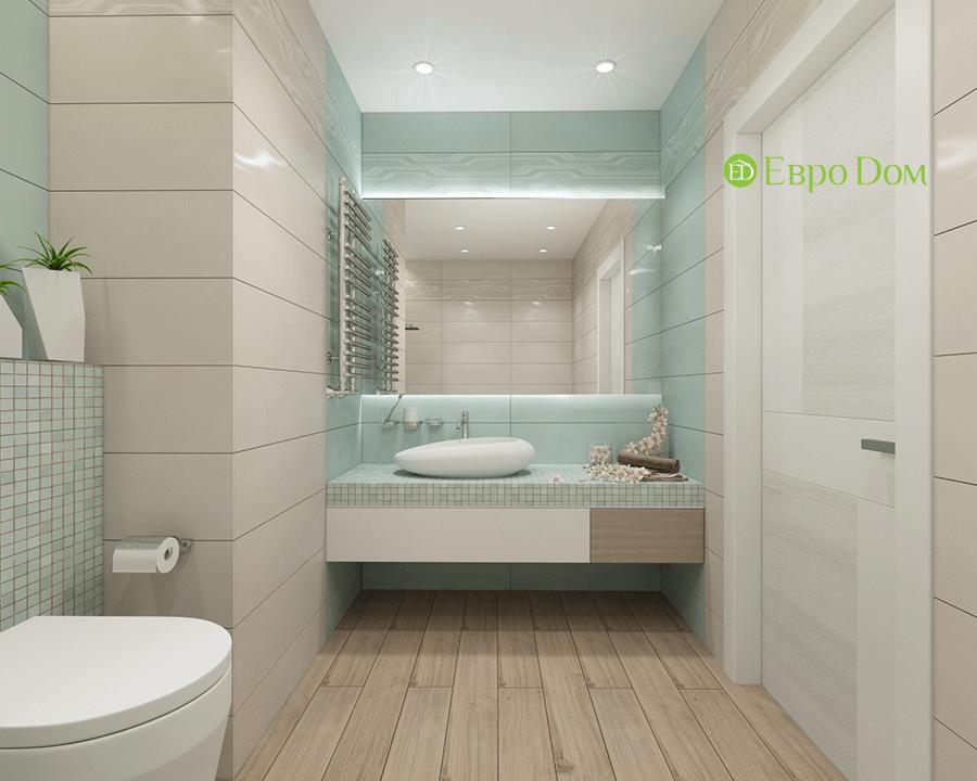 Дизайн трёхкомнатной квартиры 109 кв. м в современном стиле. Фото 019