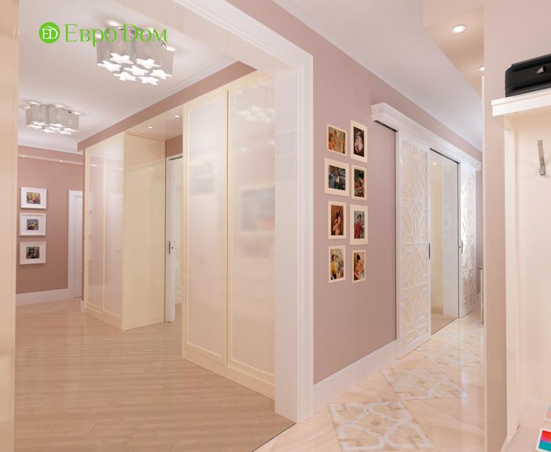 Дизайн трехкомнатной квартиры 90 кв. м в английском стиле. Фото 03