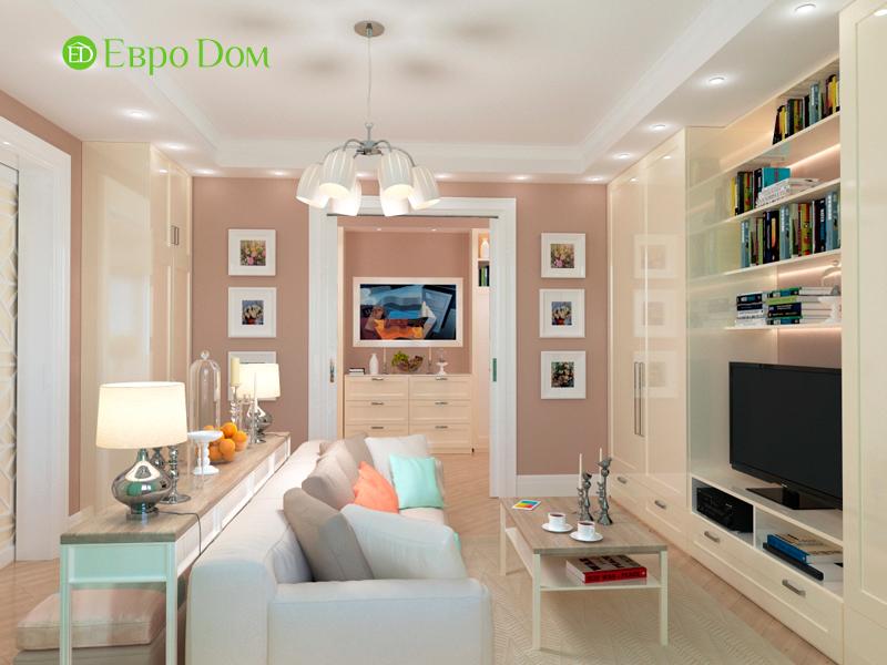 Дизайн трехкомнатной квартиры 90 кв. м в английском стиле. Фото 04