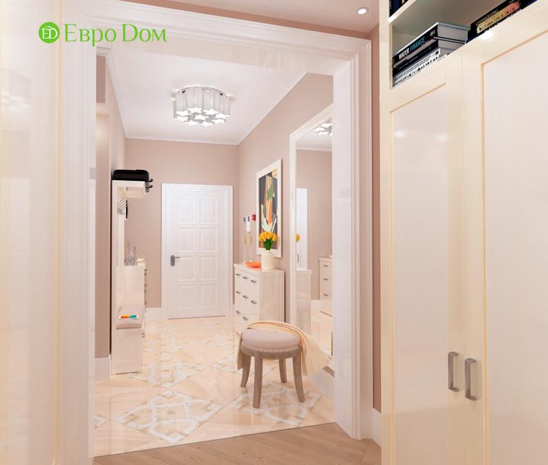 На фото: английский стиль в трехкомнатной квартире