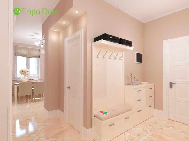 Дизайн трехкомнатной квартиры 90 кв. м в английском стиле. Фото 06