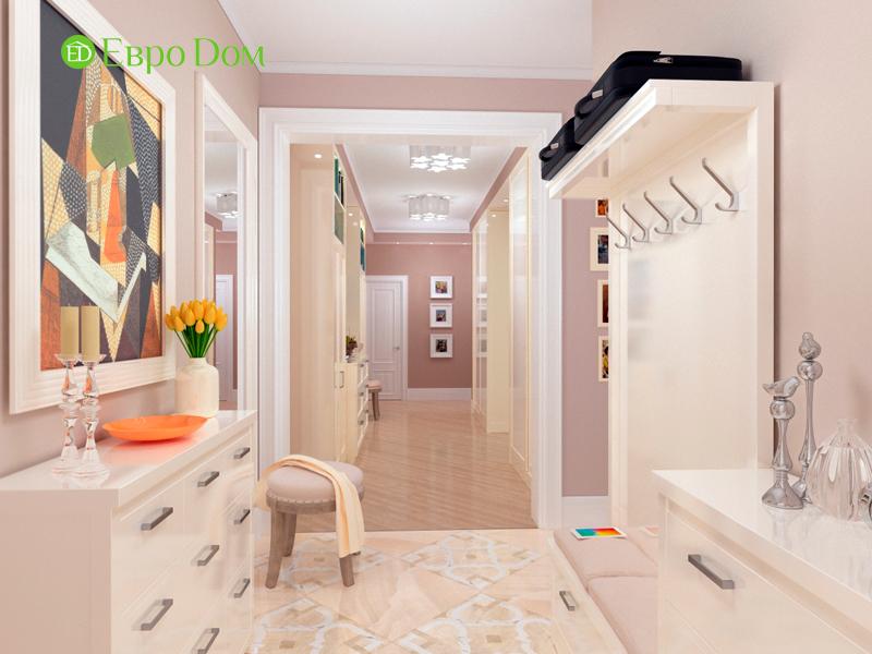 Дизайн трехкомнатной квартиры 90 кв. м в английском стиле. Фото 07