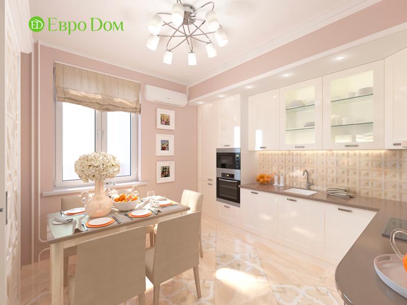 Дизайн трехкомнатной квартиры 90 кв. м в английском стиле. Фото 09