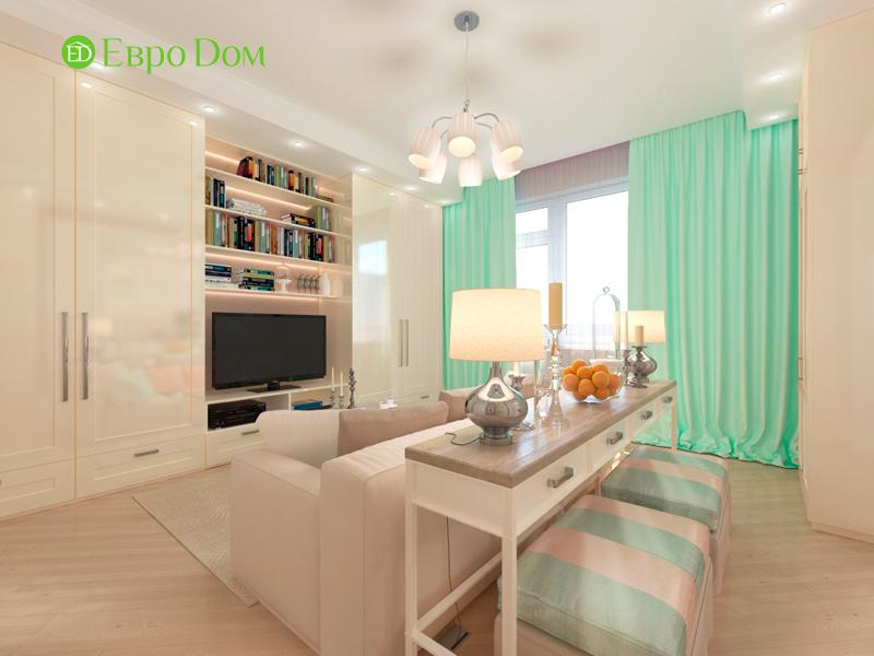 Дизайн трехкомнатной квартиры 90 кв. м в английском стиле. Фото 012