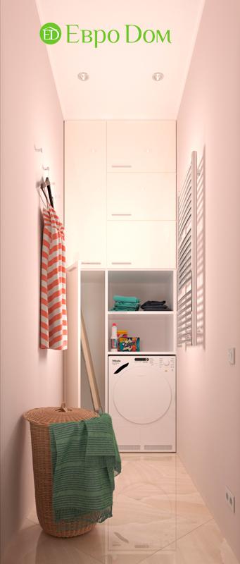 Дизайн трехкомнатной квартиры 90 кв. м в английском стиле. Фото 016