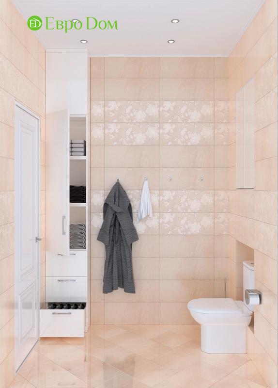 Дизайн трехкомнатной квартиры 90 кв. м в английском стиле. Фото 019