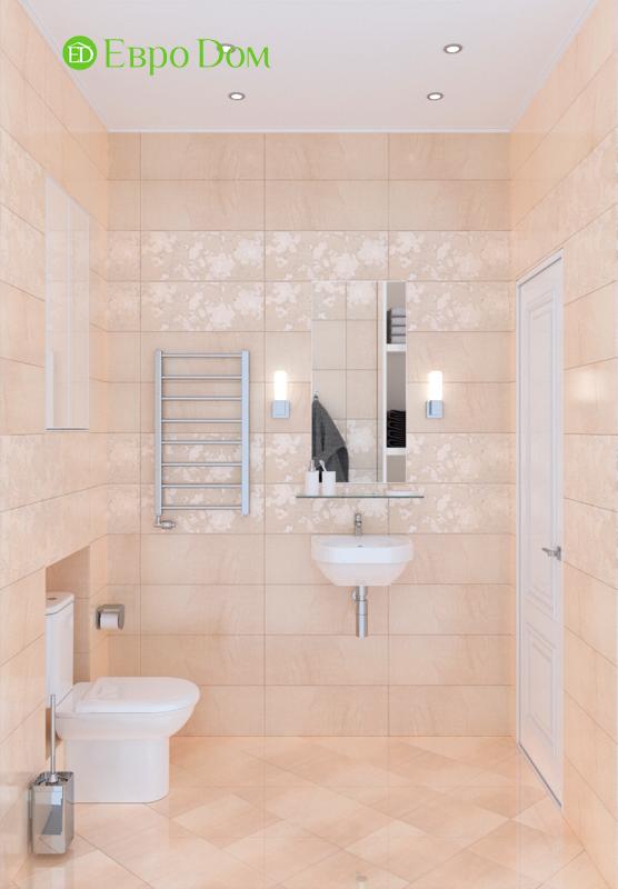 Дизайн трехкомнатной квартиры 90 кв. м в английском стиле. Фото 020