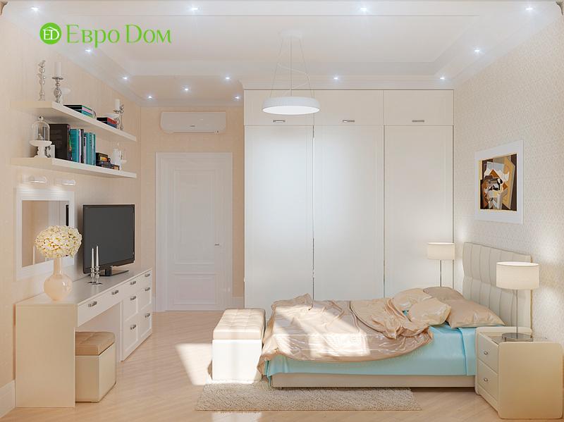Дизайн трехкомнатной квартиры 90 кв. м в английском стиле. Фото 022