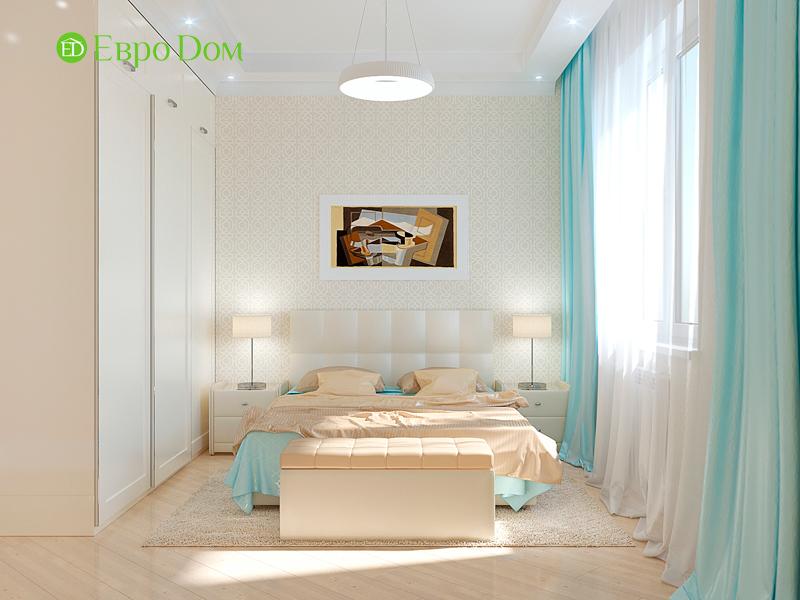 Дизайн трехкомнатной квартиры 90 кв. м в английском стиле. Фото 023