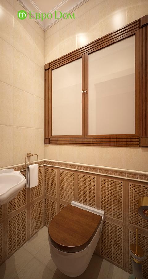 Дизайн трехкомнатной квартиры 89 кв. м в английском стиле. Фото 015