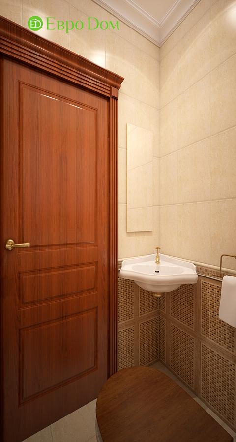 Дизайн трехкомнатной квартиры 89 кв. м в английском стиле. Фото 016