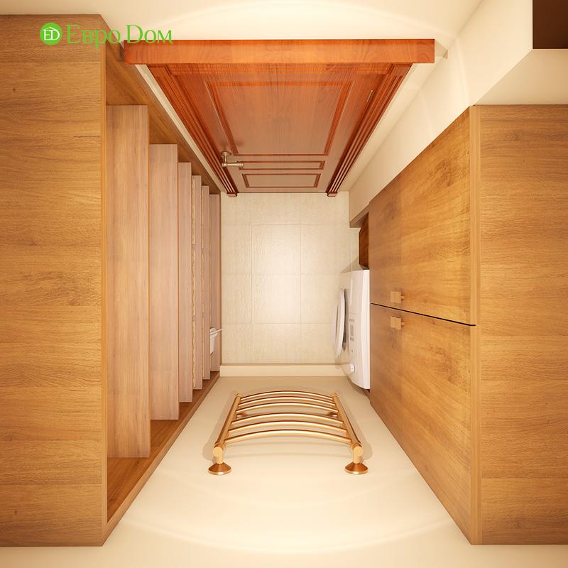 Дизайн трехкомнатной квартиры 89 кв. м в английском стиле. Фото 018