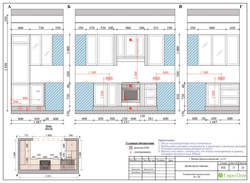 Дизайн трехкомнатной квартиры 89 кв. м в английском стиле. Фото 038