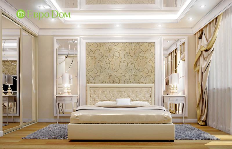 Дизайн интерьера 3-комнатной квартиры 100 кв. м в классическом стиле. Фото 03