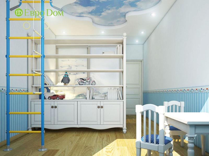 Дизайн интерьера 3-комнатной квартиры 100 кв. м в классическом стиле. Фото 04