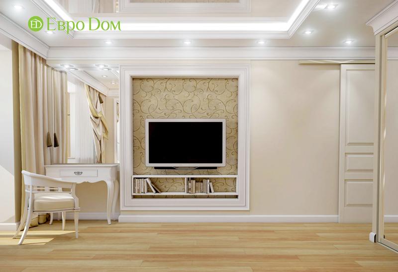 Дизайн интерьера 3-комнатной квартиры 100 кв. м в классическом стиле. Фото 05