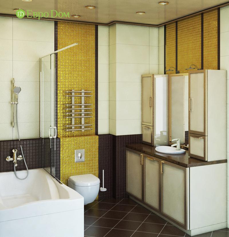 Дизайн интерьера 3-комнатной квартиры 100 кв. м в классическом стиле. Фото 010